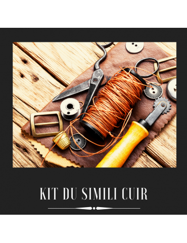 Le kit simili cuir /...