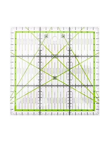 Règle carré patchwork 15cm