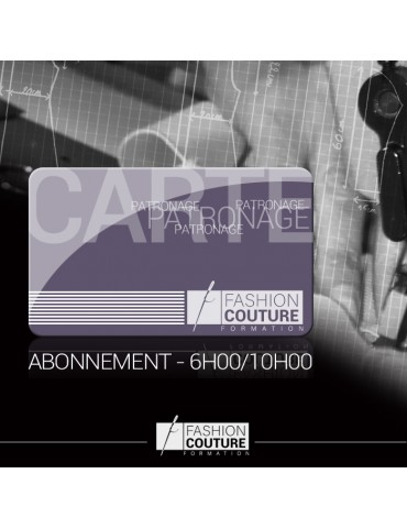Carte abonnement Patronage...