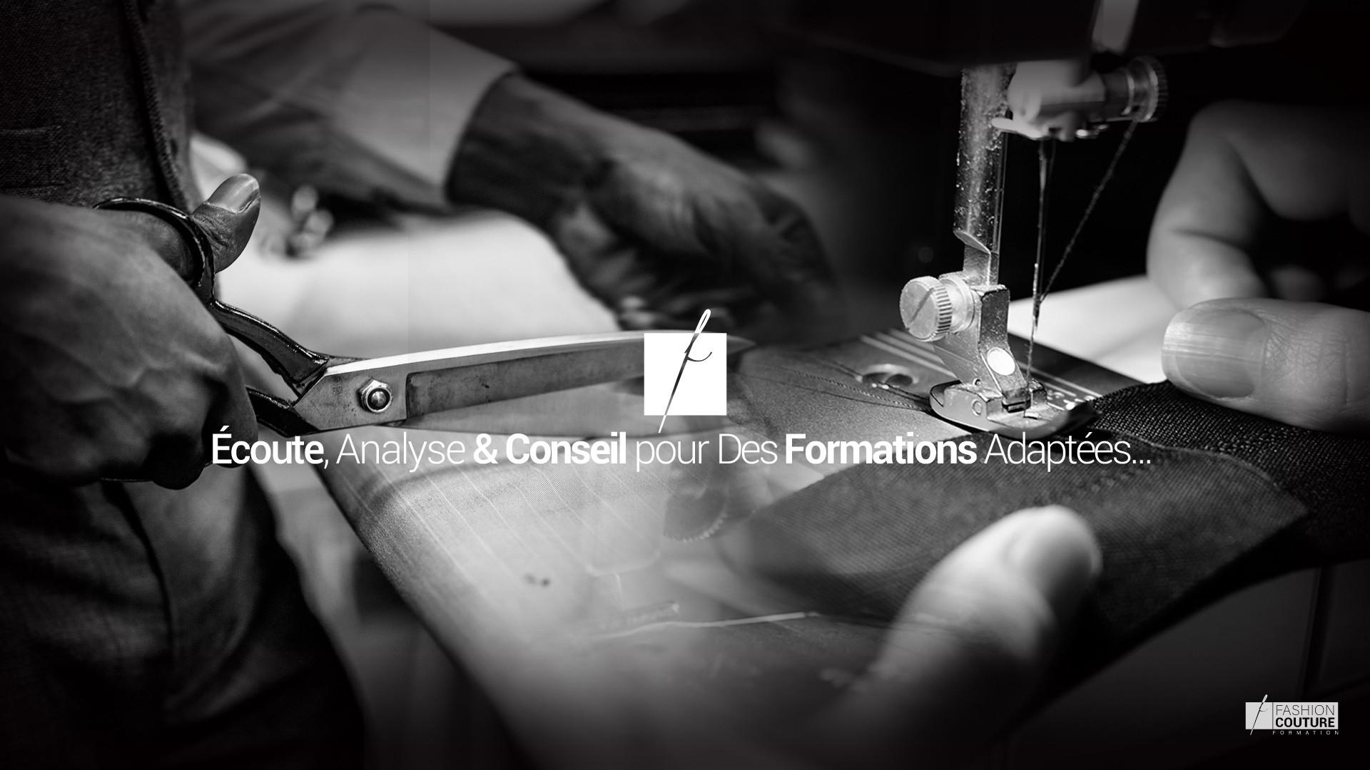 Écoute, Analyse & Conseil pour Des Formations Adaptées...